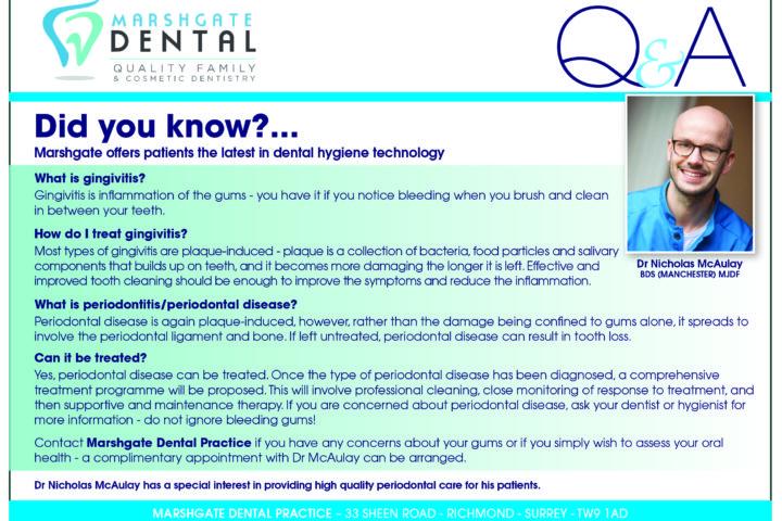 Gingivitis, periodontitis and it's treatment...