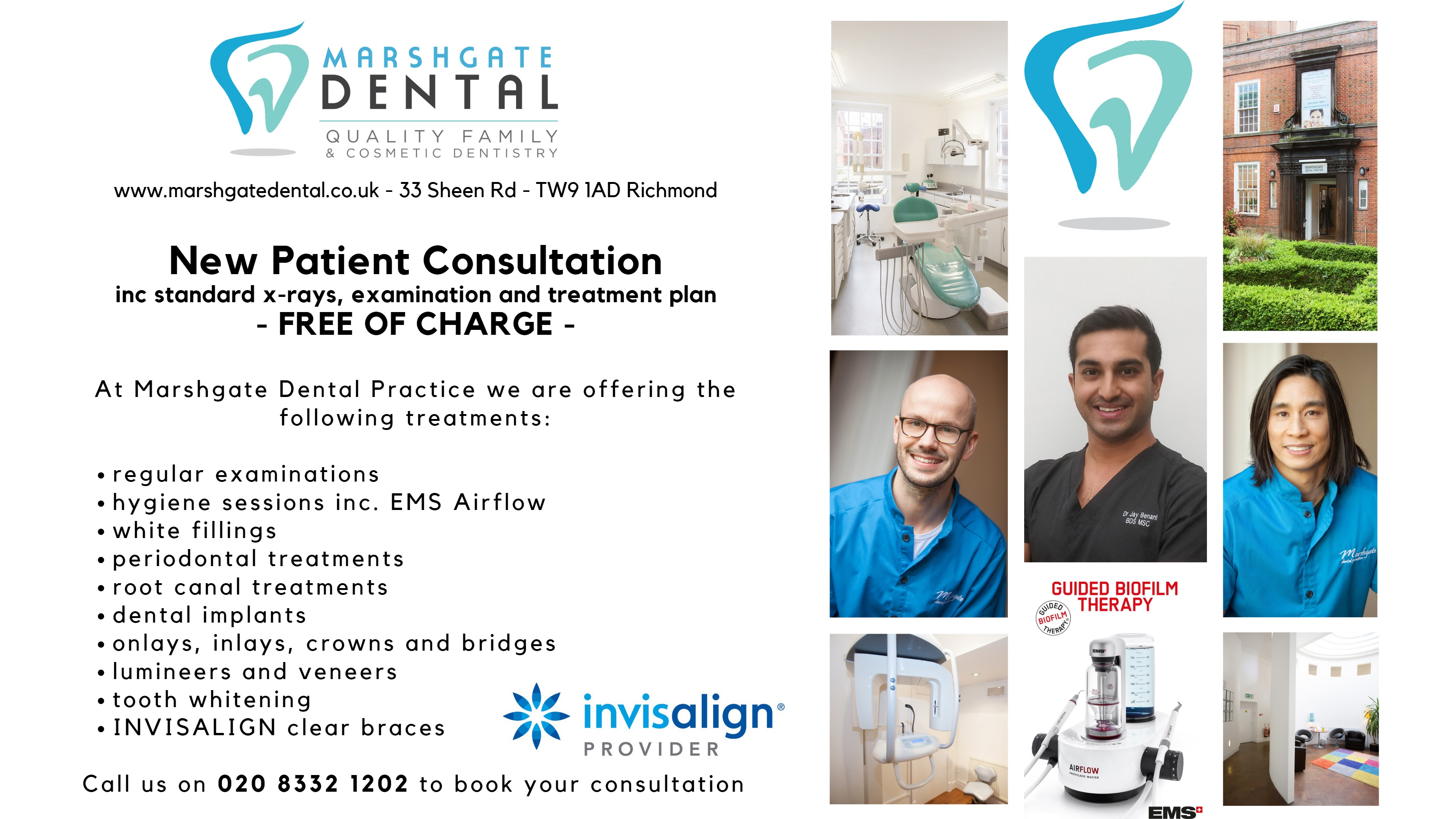 free new patient consultation