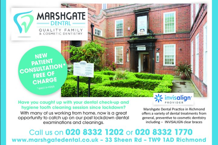 FREE of charge New Patient Consultations at Marshgate Dental Practice